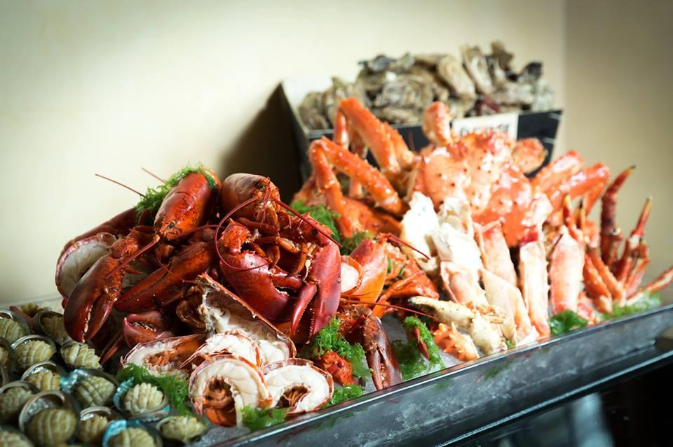 各式各樣鮮嫩的海鮮。來源:渢竹官網。