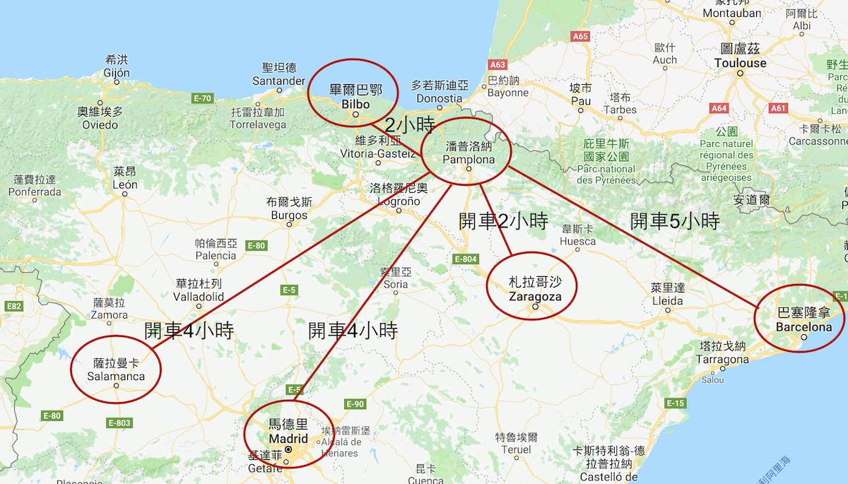 Google Map 製圖:老蝦