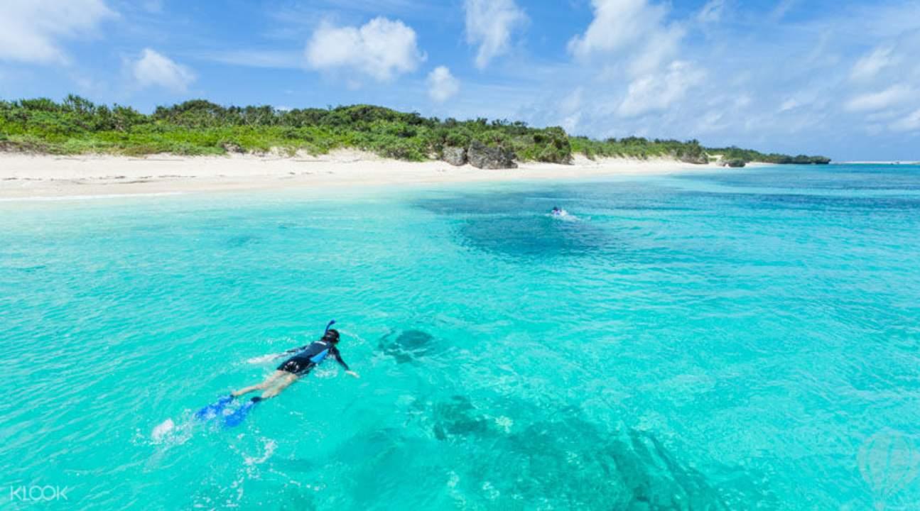 在秘境小島徜徉海洋世界。