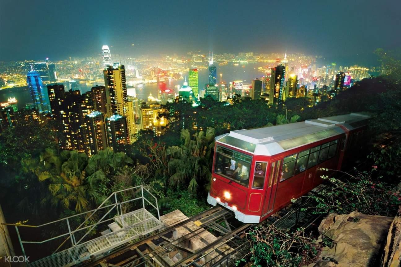 香港深度遊-中環太平山頂人文觀光之旅