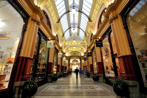 街區拱廊的室內景。(圖片取自街區拱廊官方FB粉絲團)