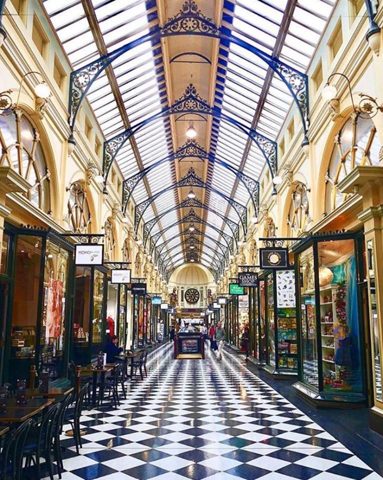 皇家拱廊的室內景。(圖片取自皇家拱廊官方FB粉絲團)