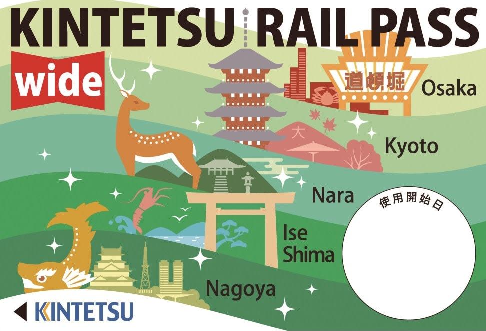 KINTETSU RAIL PASS/來源:https://goo.gl/bTMHfb