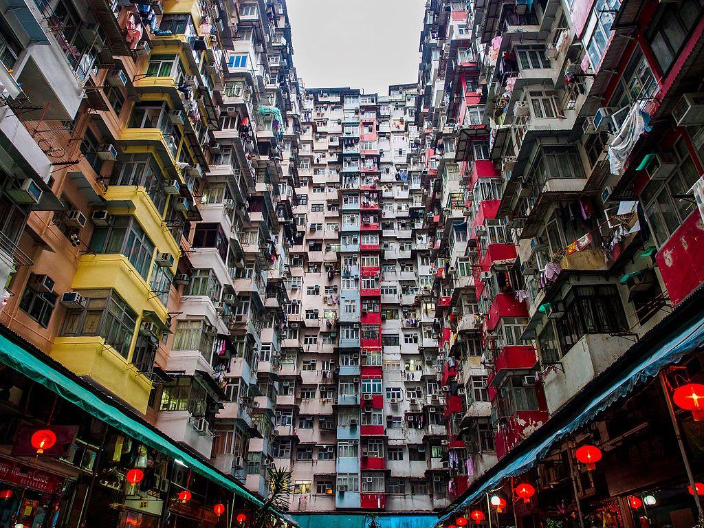 香港怪獸大廈,取自:維基百科。