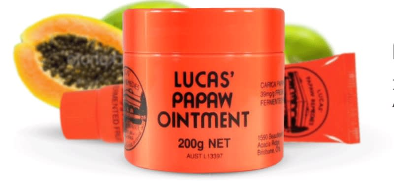 Lucas'Papaw木瓜霜(取自:Lucas'Papaw官網)
