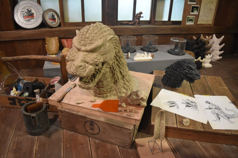 哥吉拉怪獸之王特展-頭部模型
