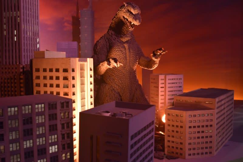哥吉拉怪獸之王特展-擬真場景