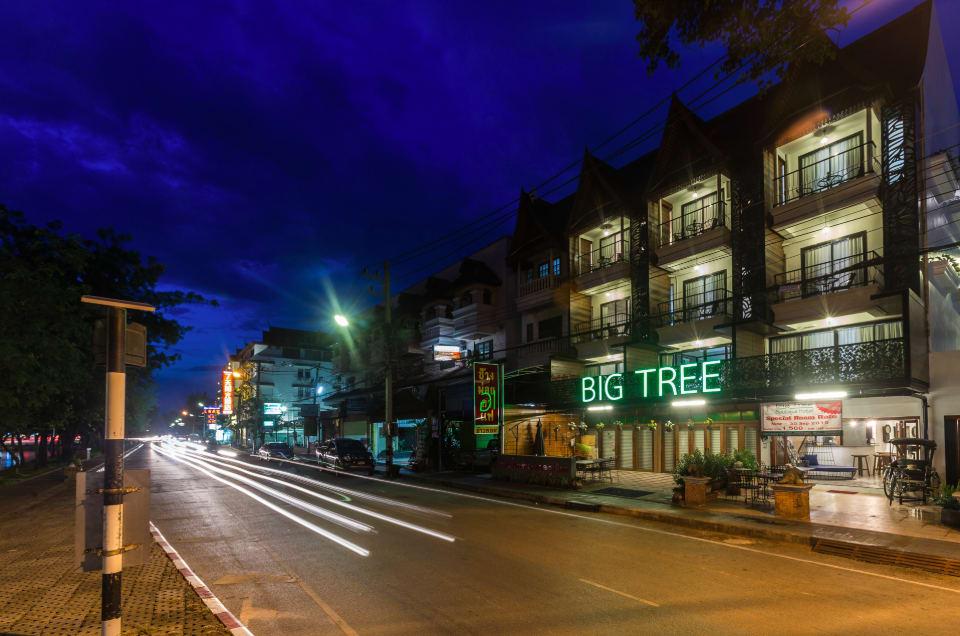 外牆有明顯的「BIG TREE」標示,相當好找。來源:BIG TREE Boutique Hotel官網。