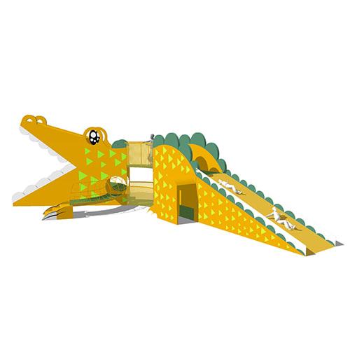 2018童玩節 鱷魚滑梯