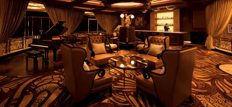 在「巨星酒廊」品酒也是一種放鬆享受。(圖片取自新濠影匯官網)