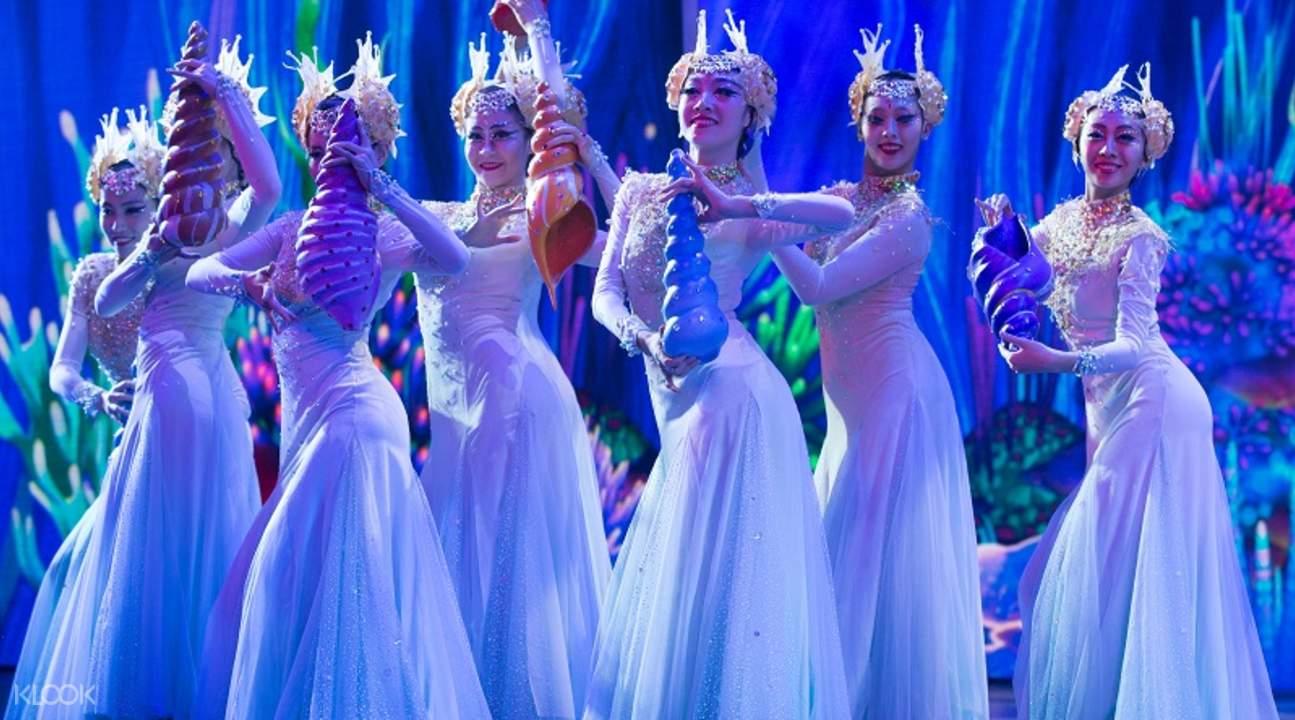 無論是服裝設計或整體舞蹈動作都非常用心。