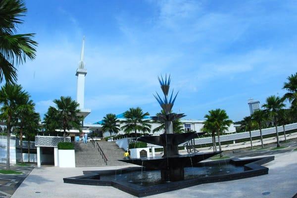 國家清真寺,來源:馬來西亞觀光局官網
