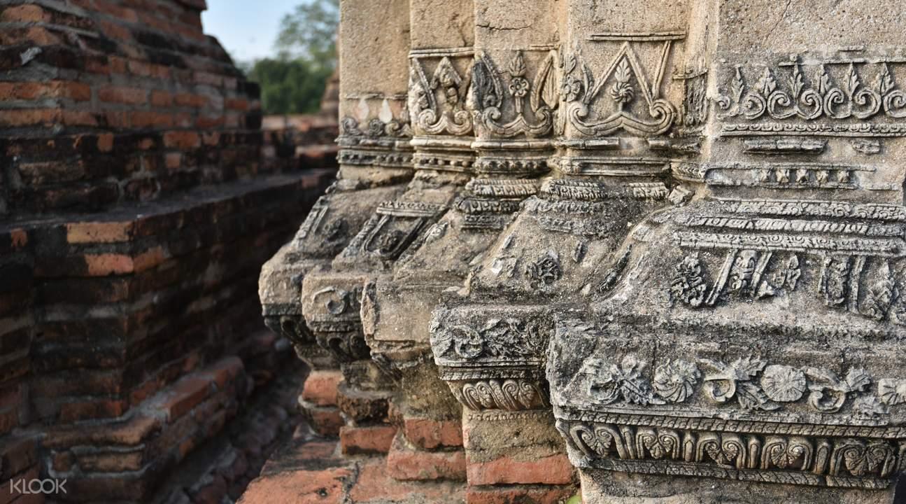 古老的瑪哈泰寺。來源:KLOOK。