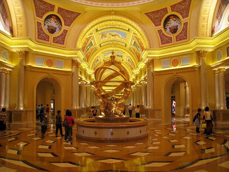 威尼斯人度假村酒店 來源:wikimedia@WiNG