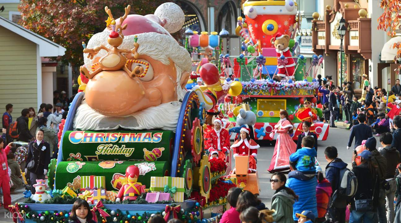 愛寶樂園 聖誕相關活動