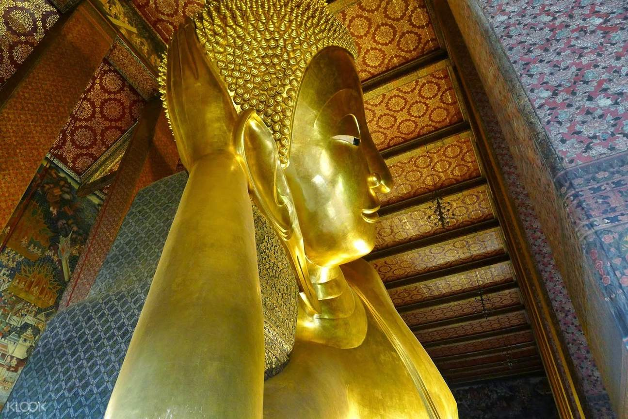 臥佛寺是曼谷最古老的寺廟之一。來源:KLOOK。