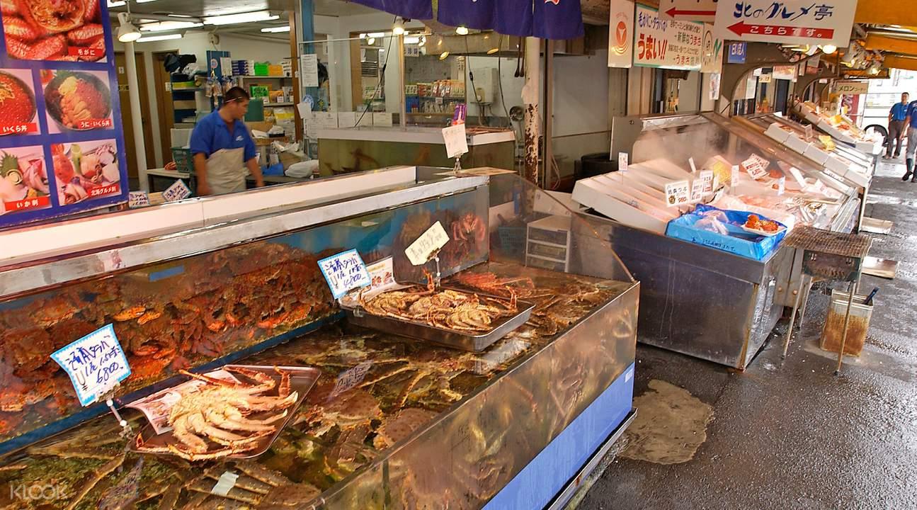 札幌中央批發市場,圖片來自客路官網。