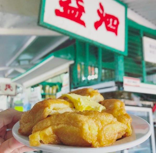 泗益茶餐廳-咖央西多士,圖片取自:py___py instagram。