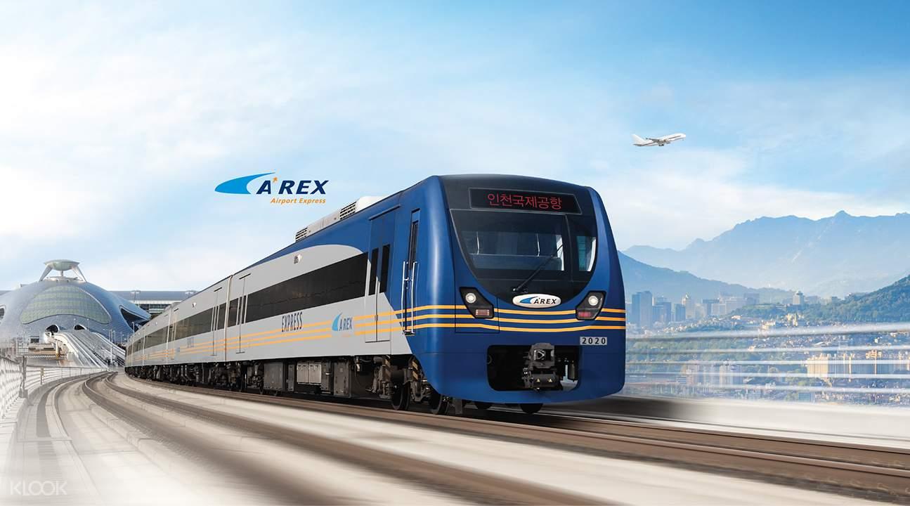 AREX機場快線直達車,省時方便又便宜。