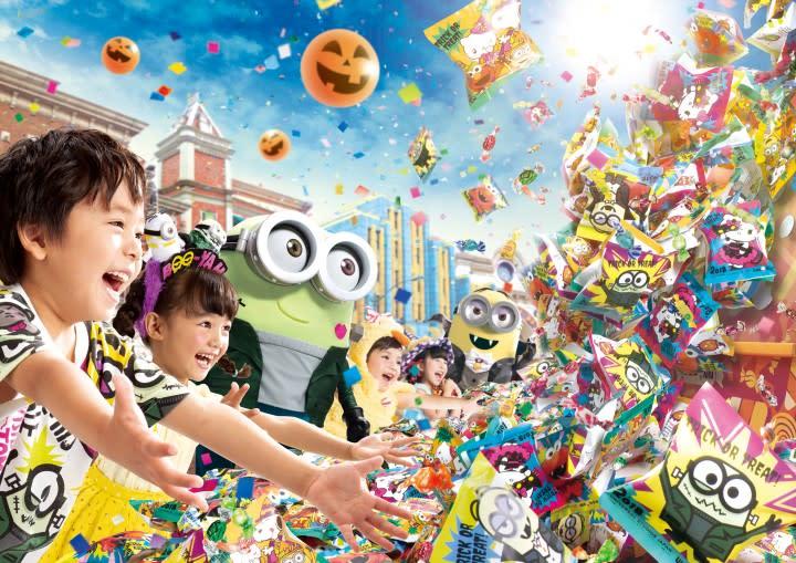 大阪環球影城萬聖節,圖片取自:環球影城官方網站。