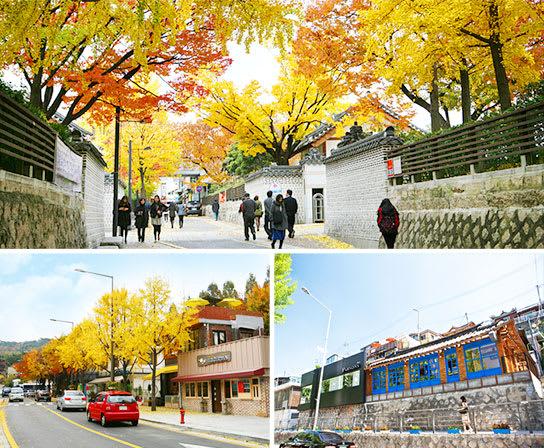 三清洞路,圖片取自韓國觀光公社官網。