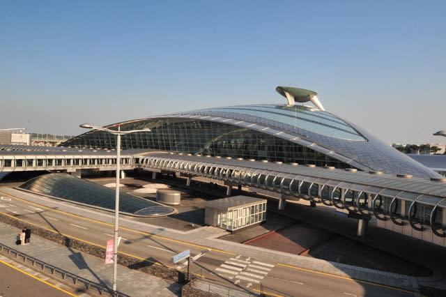韓國仁川機場,取自:Flickr 準建築人手札網站 Forgemind ArchiMedia。