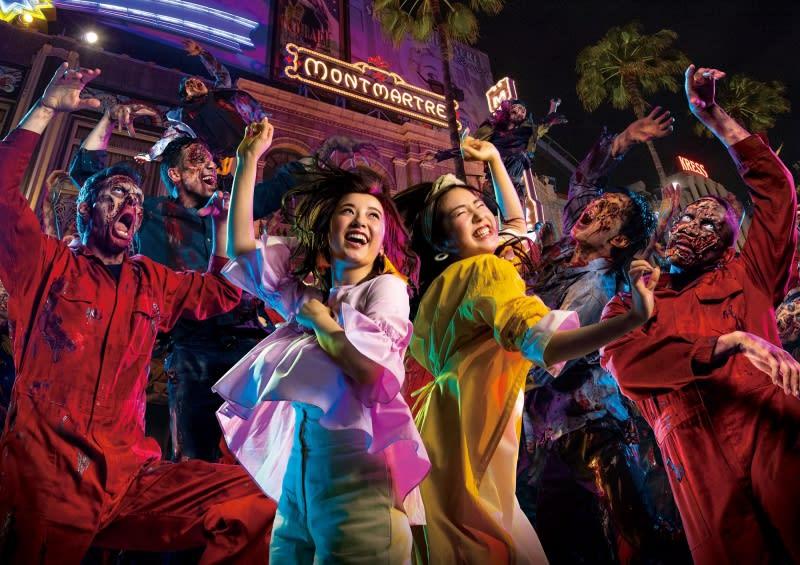 殭屍尬舞秀,圖片取自:環球影城官方網站。