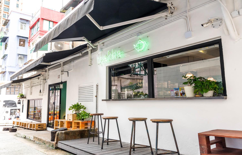 Teakha 茶。家,位在POHO區太平山街 / 來源:Teakha 茶。家 官網