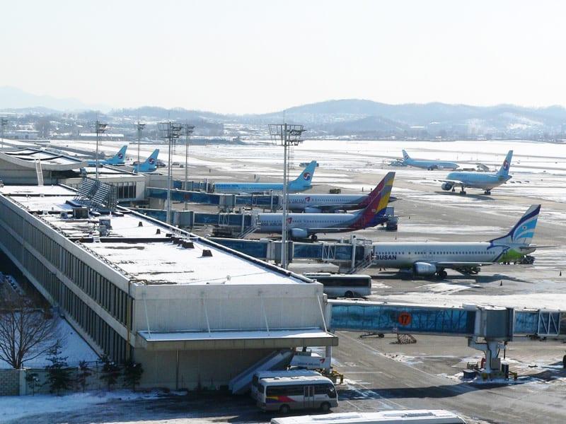 金浦機場,取自:維基百科。