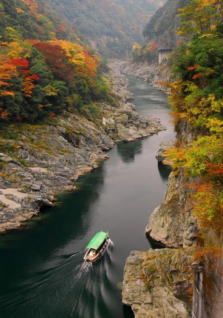 大歩危・小歩,圖片取自日本miyoshinavi網站。