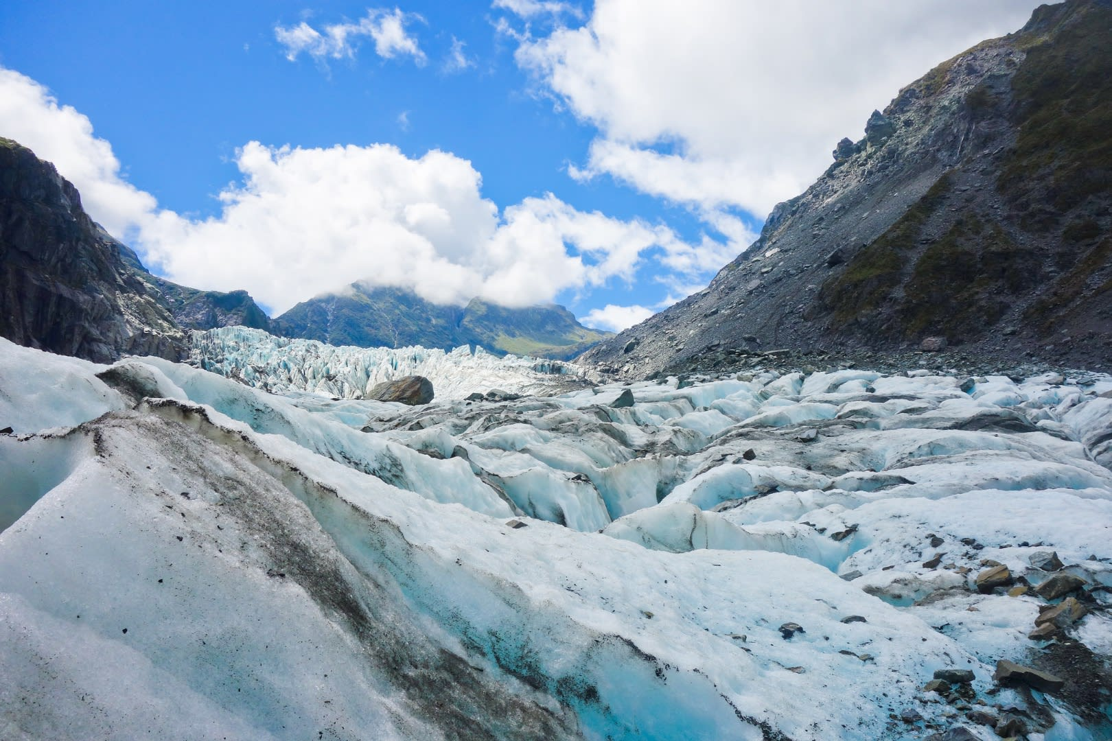 福斯冰川(Fox Glacier),紐西蘭