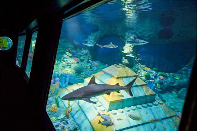 Submarine Adventure 半潛艇,取自:名古屋樂高樂園官方網站