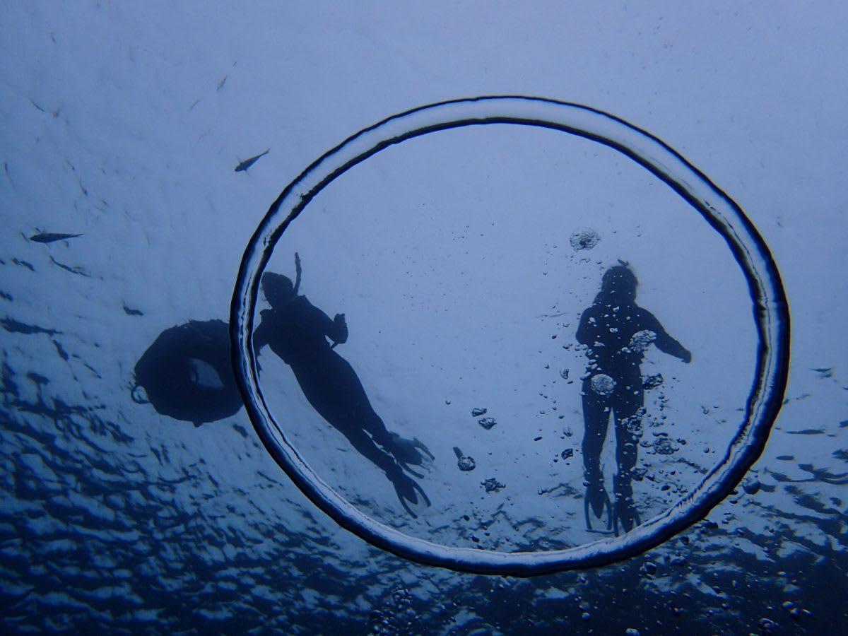 來沖繩體驗海上活動,拍下難得的回憶帶回去