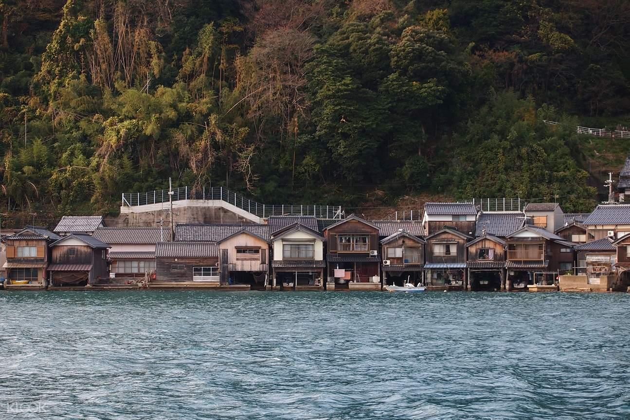 【日本自由行】海之京都一日遊!伊根舟屋、天橋立、美山茅屋之里一天跑透透