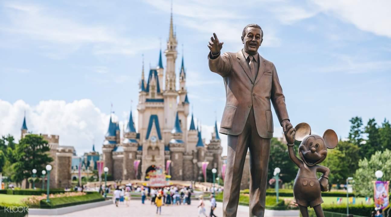 灰姑娘城堡簡直就是每個女孩的夢想,東京迪士尼我來了!