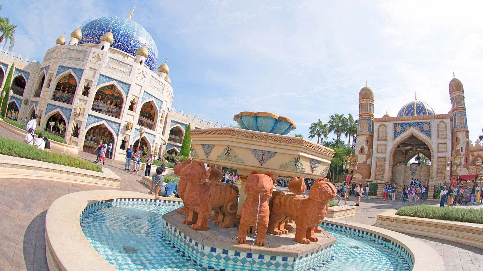 日本獨創的海洋主題迪士尼樂園。(圖片取自東京迪士尼海洋樂園官網)