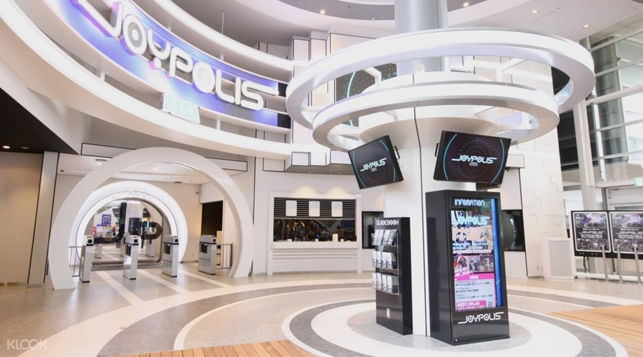 日本規模最大的室內SEGA電玩主題樂園就在東京台場。