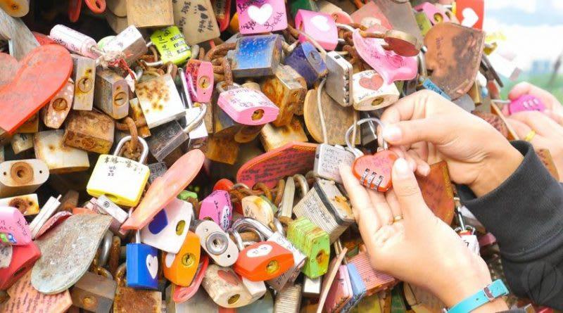 首爾塔愛情鎖,照片來源:KLOOK