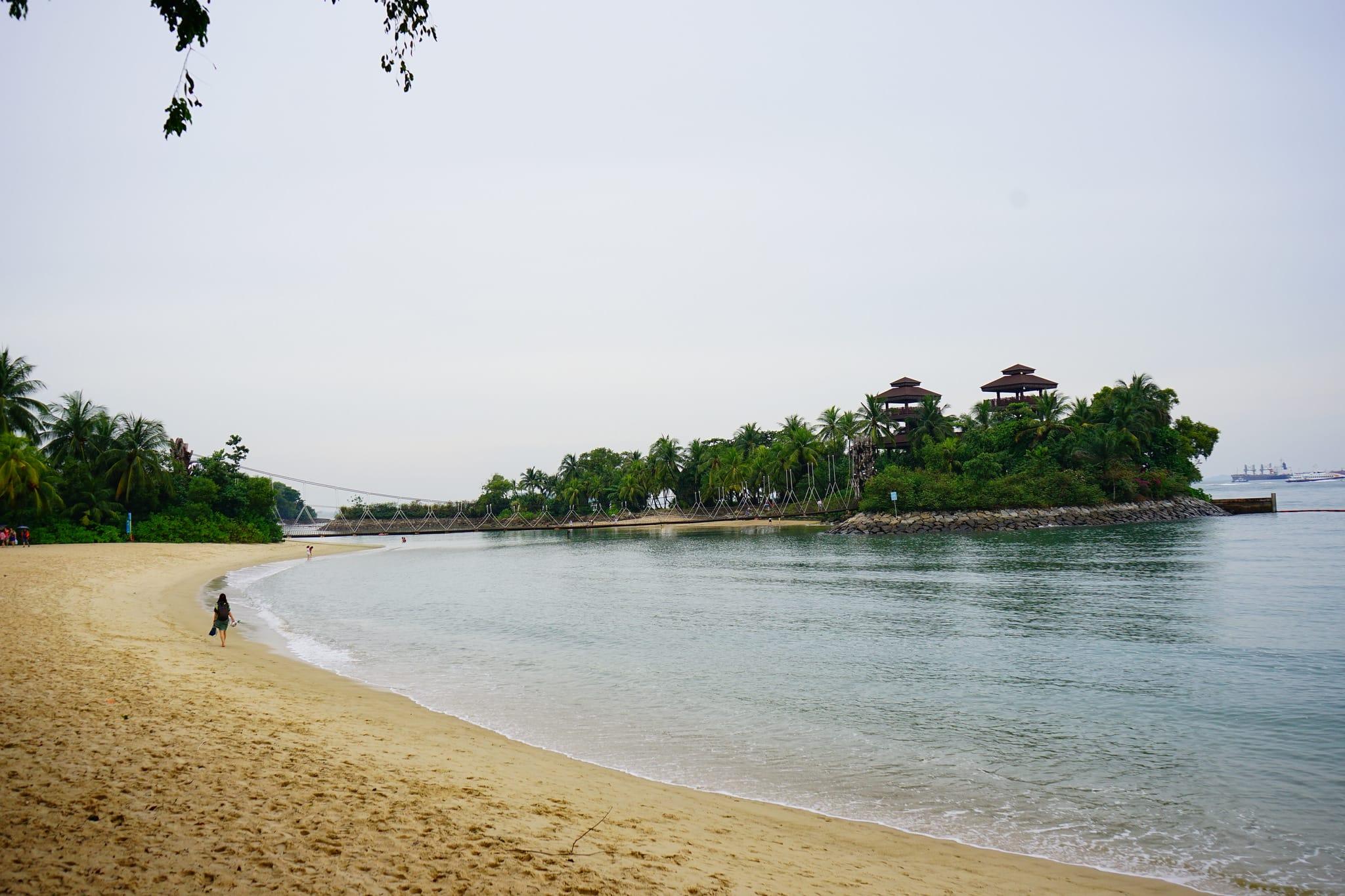 聖淘沙巴拉望海灘