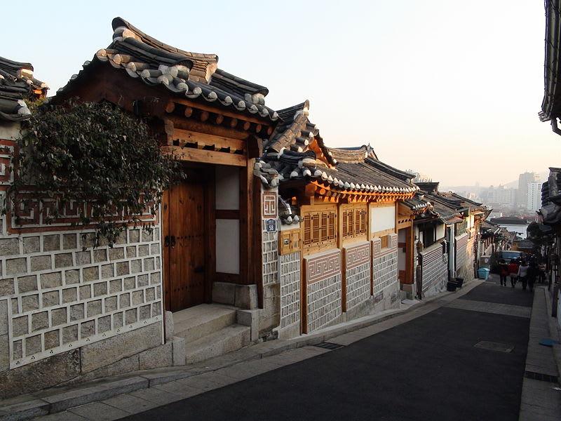 北村韓屋,取自:維基百科。