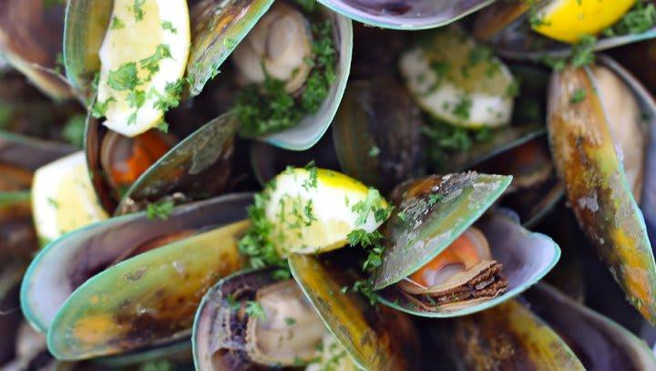 紐西蘭淡菜,圖片取自farm1.nzstatic.com。