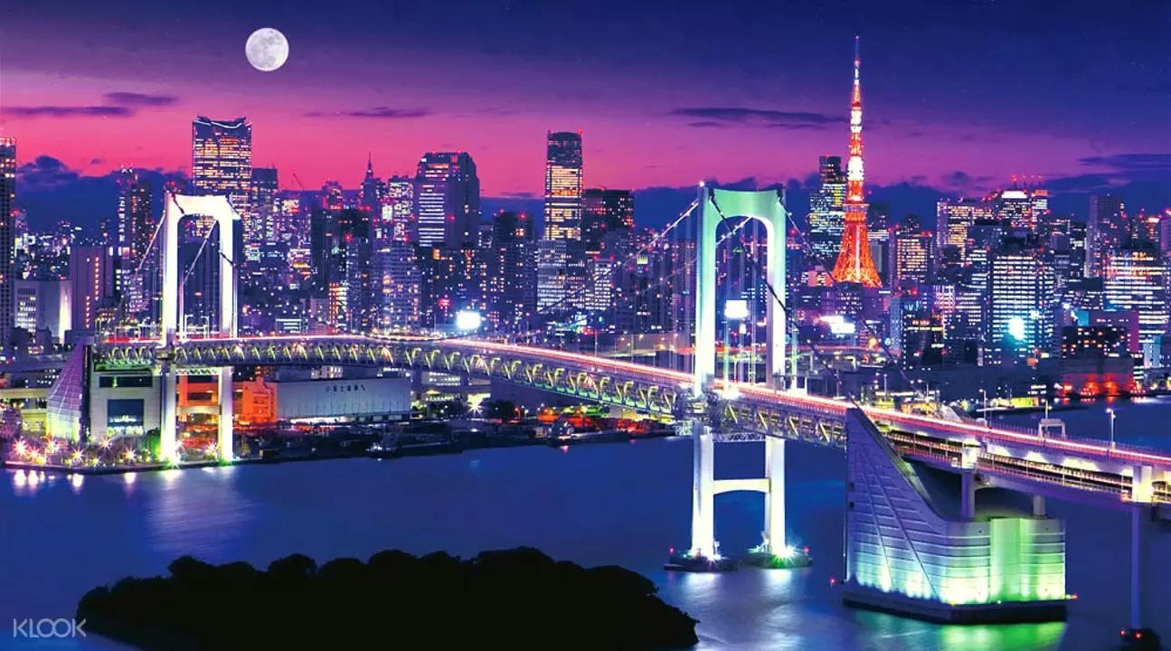 【東京自由行】台場一日遊攻略! 購物、outlet、美食、景點懶人包東京最浪漫的購物聖地-台場-璀璨夜景