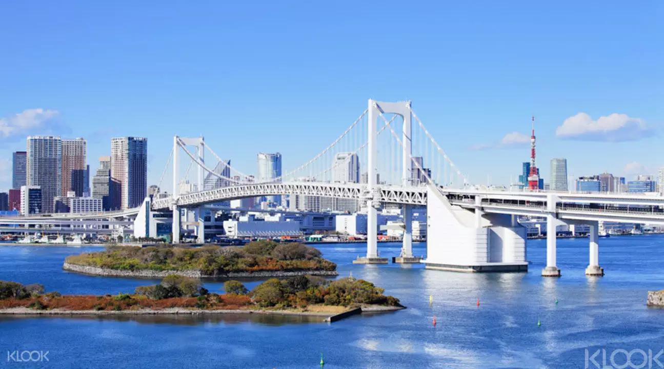 台場-眺望橫越東京灣的彩虹大橋