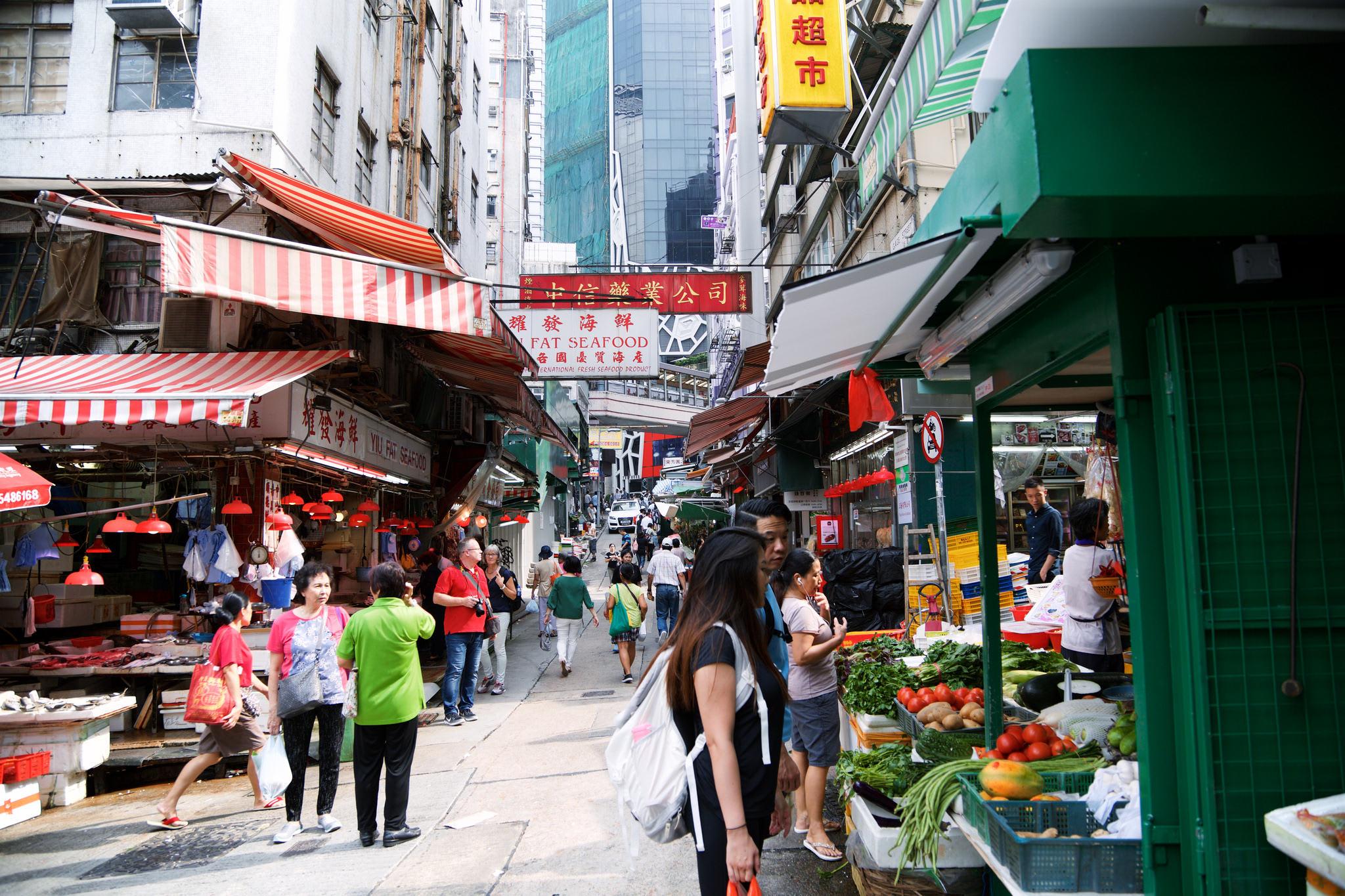 嘉咸街體驗當地生活 來源:flickr@inmediahk