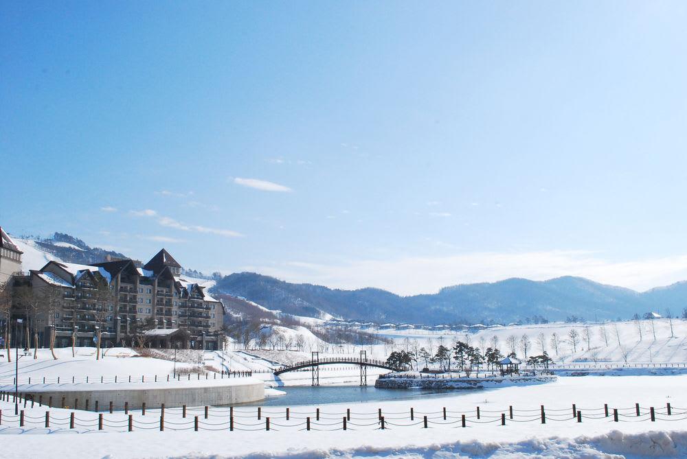 艾潘西亞平昌洲際渡假村,圖片取自www.hotelplanner.com。