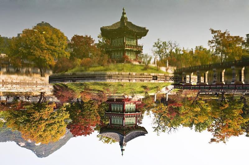 景福宮(照片來源:Pixabay https://pixabay.com/)