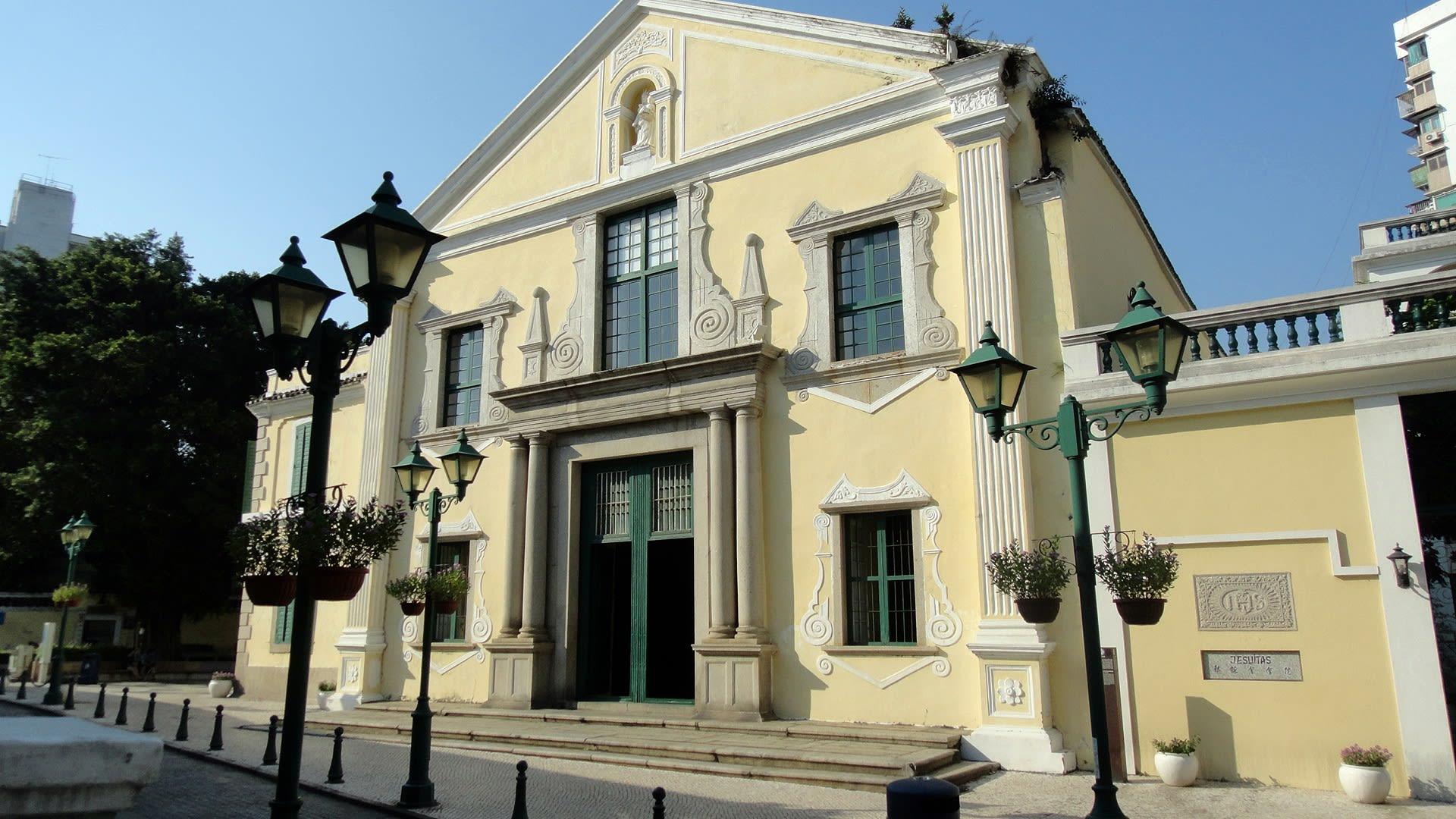 澳門歷史城區-聖奧斯定教堂