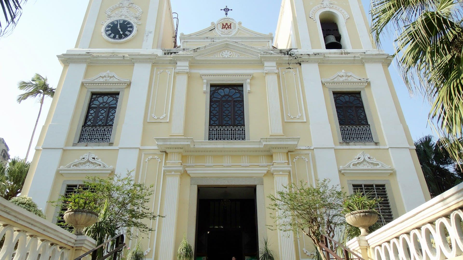 澳門歷史城區-聖老楞佐教堂(澳門三大古老教堂之一)