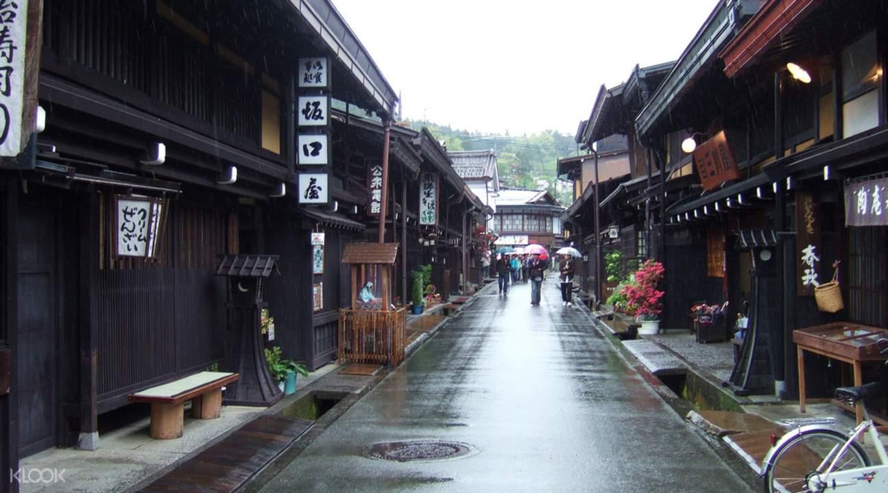 飛驔高山老街,素有小京都之稱