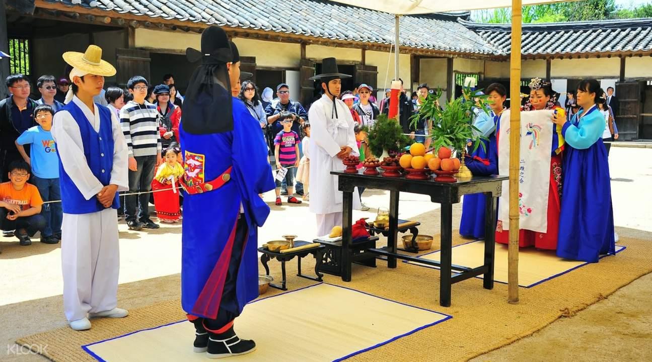 韓國民俗村 傳統婚禮